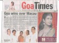 Forefront performs in Macau representing Goa for the 15th Lusofonia Festival from 12th- 21st Oct